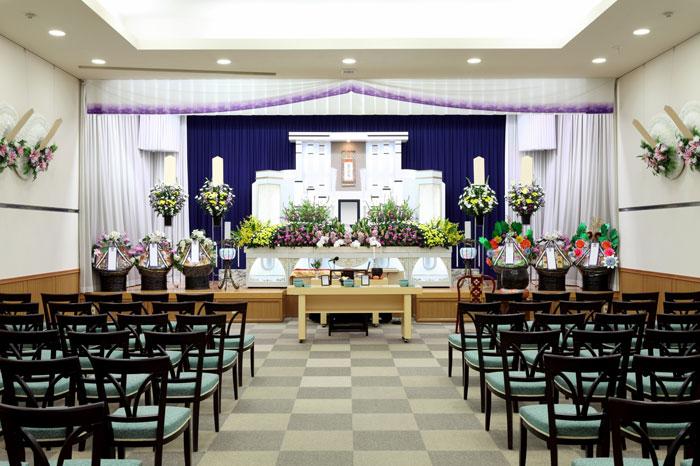 式場(葬儀場)利用料は追加費用が掛かる場合あり