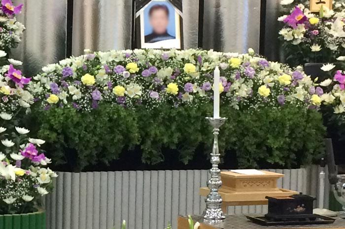 小さなお葬式 祭壇
