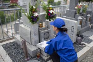 墓じまい 石材店を探しお墓を撤去する
