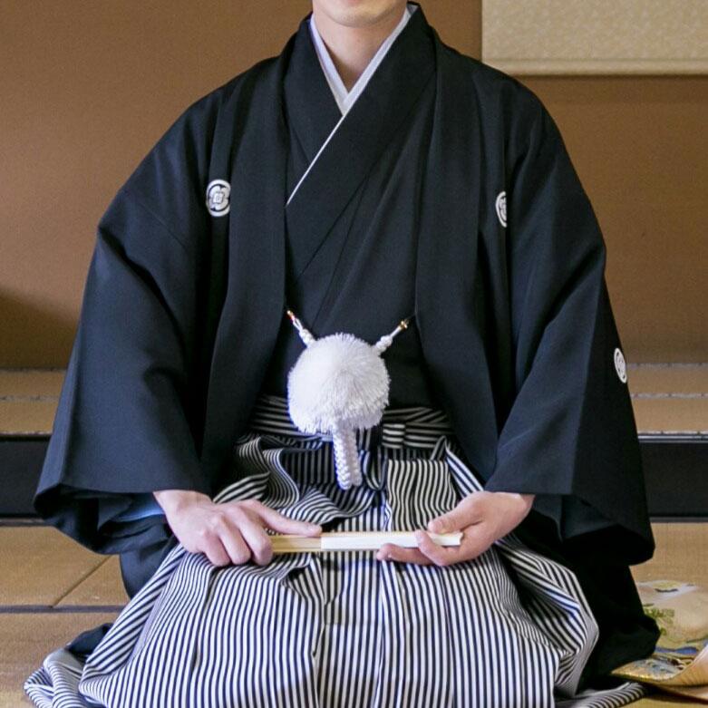 正喪服 紋付羽織袴