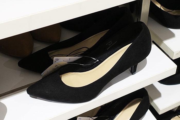 GU 喪服 レディース 靴